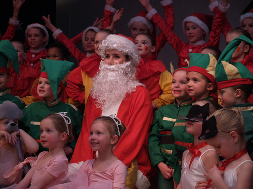 Phillipa Hogan School of Dance - Father Christmas
