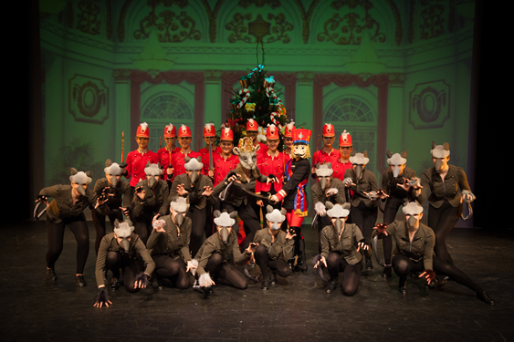 Phillipa Hogan School of Dance - Nutcracker Rats & Soldiers
