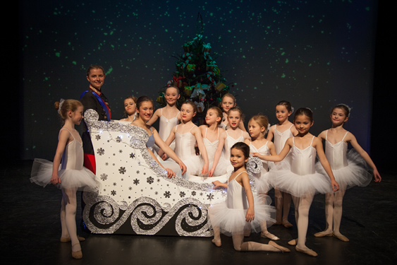 Phillipa Hogan School of Dance - Nutcracker Sleigh